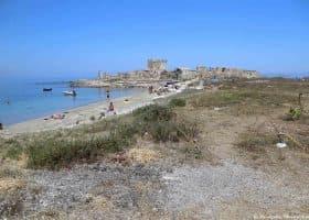 Spiaggia di Tonnara San Giuliano nel periodo estivo
